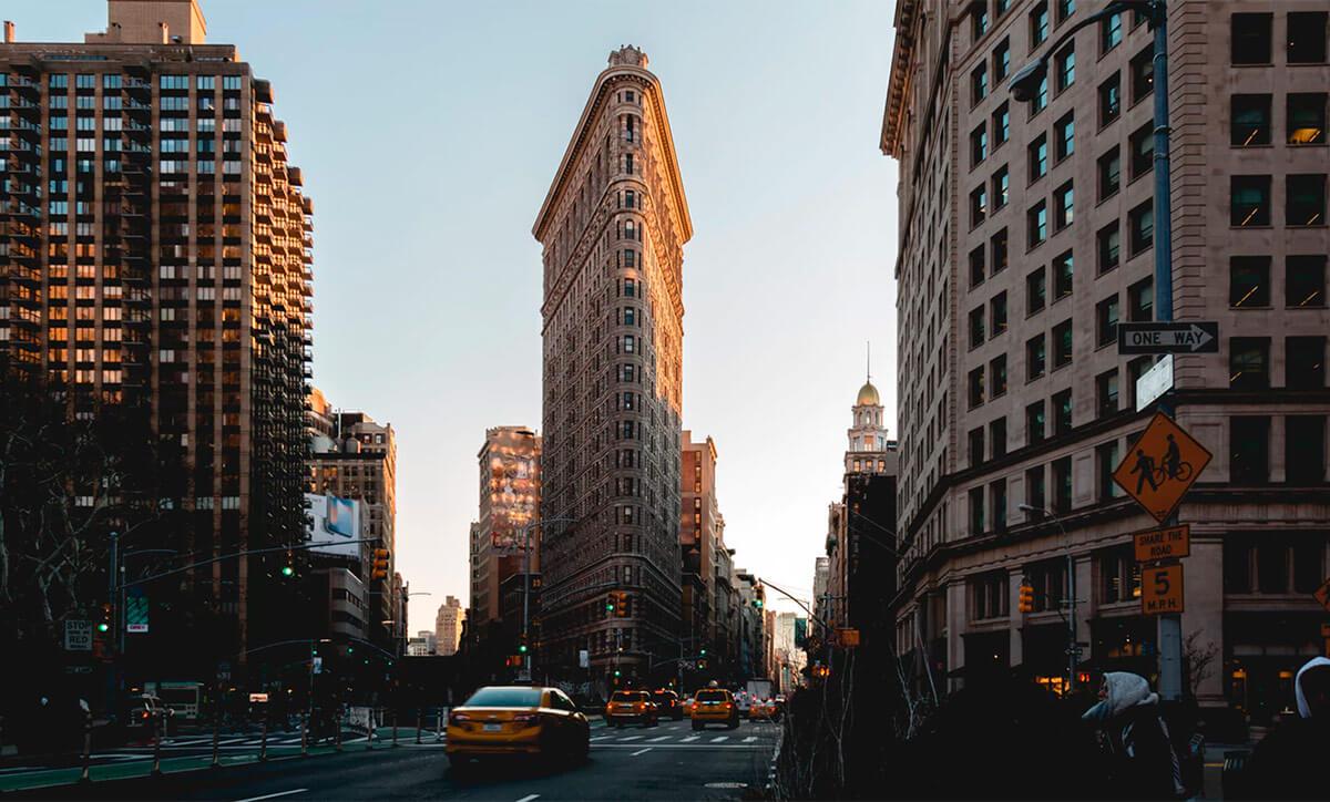 Flatiron Building — небоскреб на Манхэттене, история строительства