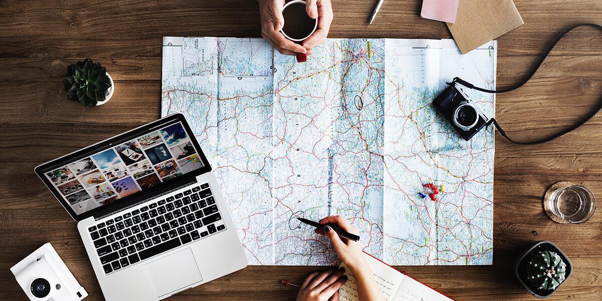 Как самостоятельно спланировать путешествие